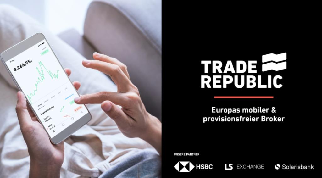 TradeRepublic Screenshot Werbung